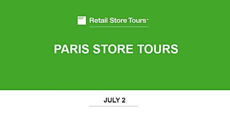 Retail Store Tours: Paris Store Tours tickets