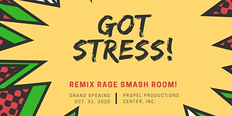 """Art Heals"" Fall Festival & Remix Rage Smash Room Grand Opening tickets"