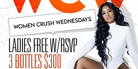 "WCW ""Women Crush Wednesdays"" @ KING OF DIAMONDS tickets"