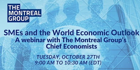 SMEs and the World Economic Outlook- A webinar with Chief Economists tickets