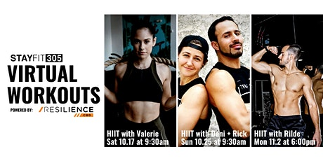 STAY FIT 305 Virtual Workout: HIIT with Dani and Rick tickets