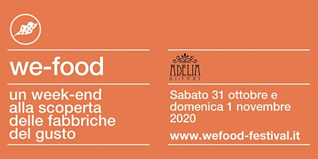 We-Food 2020 @ Adelia Di Fant tickets
