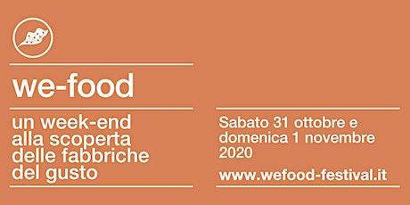We-Food 2020 @ Tenuta San Giorgio biglietti