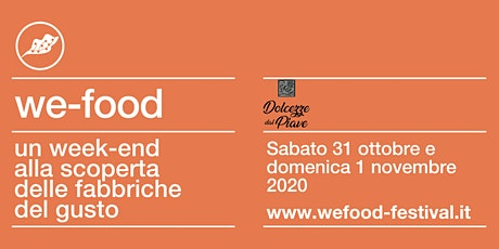 We-Food 2020 @ Ciottoli del Piave tickets