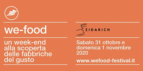 We-Food 2020 @ Azienda Agricola Zidarich tickets