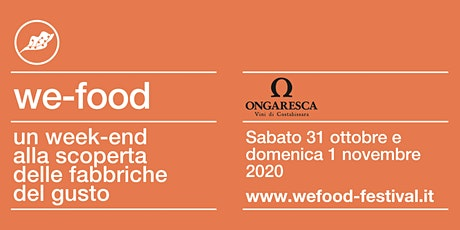 We-Food 2020 @ Cantina Ongaresca tickets