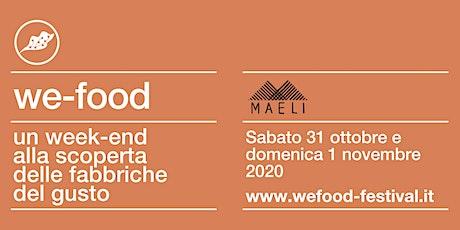 We-Food 2020 @ Maeli biglietti