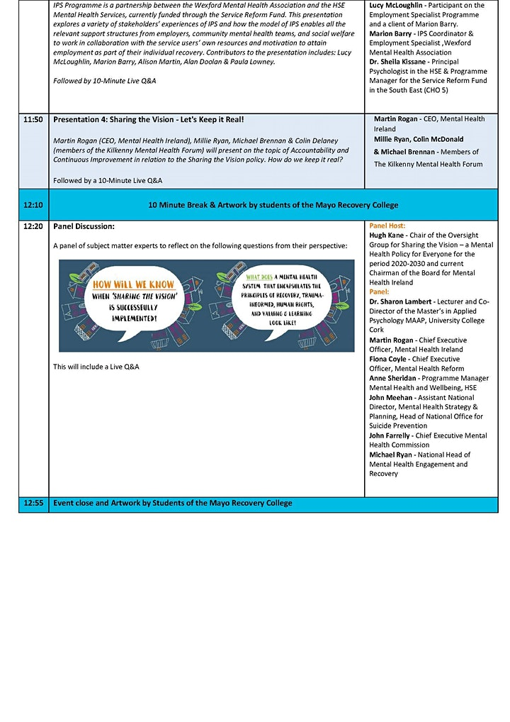 Sharing the Vision -  Translating Policy into Practice Webinar image