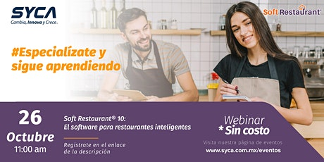 Soft Restaurant® 10: El software para restaurantes inteligentes boletos