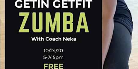 Zumba with Coach Neka tickets