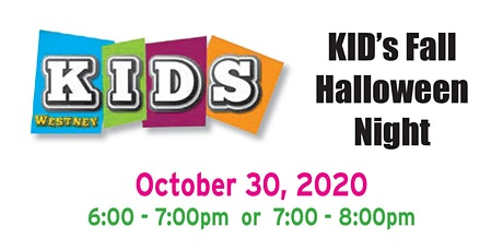 KID's Fall Halloween Night tickets