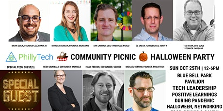 Philly Tech Community Picnic & Halloween Party - Blue Bell Park (FREE) tickets