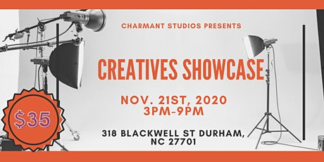 Charmant Studios Creatives Showcase tickets