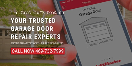 Free Quote On Garage Door Repair & Spring Replacement Dallas Fort Worth TX tickets
