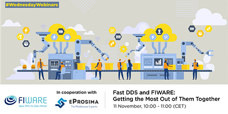 Fast DDS and FIWARE: Getting the Most Out of Them Together tickets