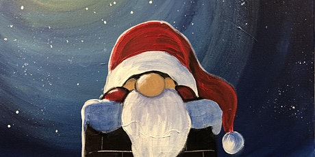 Santa surprise Banff Paint Night tickets
