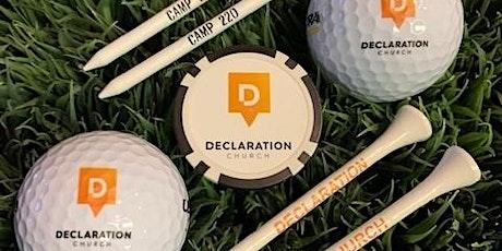 2nd Annual Declaration Church Charity Golf Tournament tickets