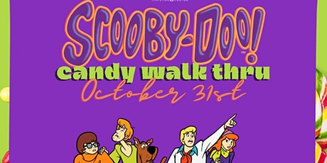 Scooby-Doo Candy walk through tickets