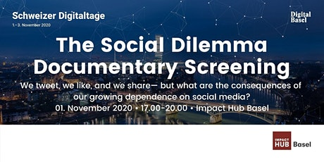 The Social Dilemma Documentary Screening billets