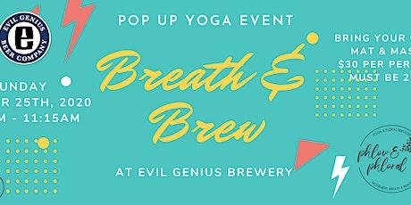 Breath & Brew tickets