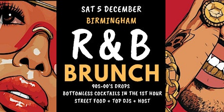 R&B Brunch 5 Dec BHAM tickets
