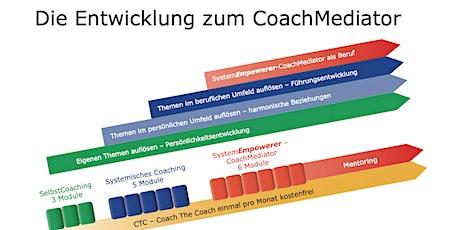Infoabend: SYSTEMISCHE COACHING AUSBILDUNG UND COACHMEDIATOR Tickets