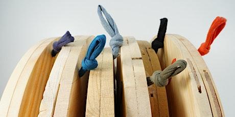 Workshop di falegnameria - L'orologio in legno e tessuto di recupero - €60 biglietti