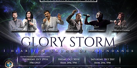 Glory Storm Conference tickets