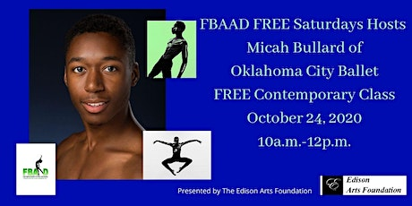 FBAAD FREE SATURDAYS Hosts Micah Bullard Contemporary Master Class! tickets