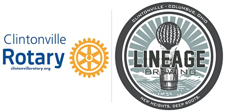 Clintonville Rotary Pints for Polio- Lineage Brewing Beer Tasting tickets