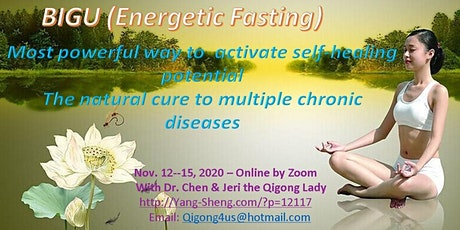4-Day Online Qigong Fasting (Bigu) Workshop with Dr. Kevin Chen tickets