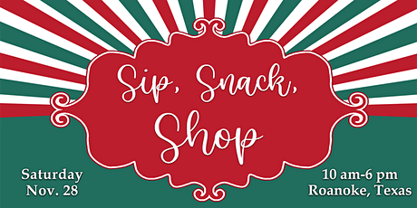 Sip, Snack, Shop Gift Tour tickets