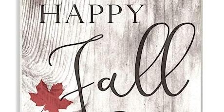 Happy Fall Paint Night tickets