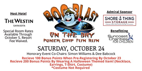 """Boo Blast On The Bay"" Fun Run tickets"