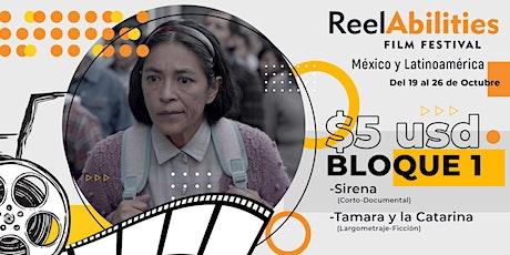 Reelabilities MX: Festival de Cine y Discapacidad 2020 (Bloque 1) entradas
