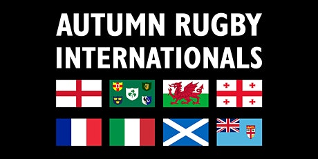 Windsor RFC - Autumn International England v Georgia lunch 14:00 tickets