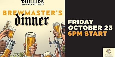 Brewmaster's Dinner - Vol I - Phillips Brewing tickets