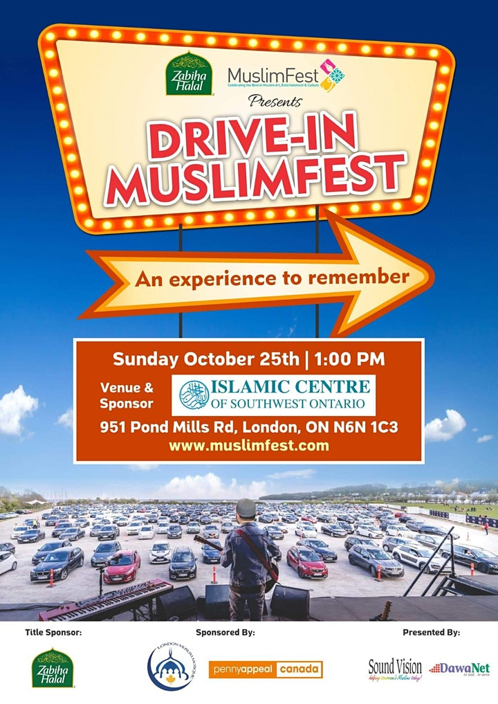 Drive-In MuslimFest at ICSWO (London, ON) image