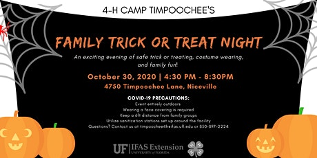 Timpoochee Family Trick or Treat Night tickets