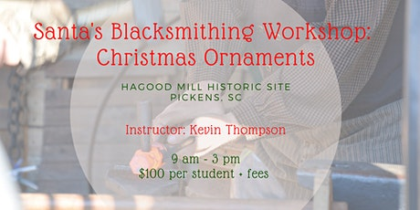 Santa's Blacksmith Workshop: Christmas Ornaments tickets
