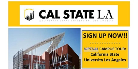 Cal State Los Angeles Virtual Tour - hosted by TELACU Veterans Upward Bound tickets