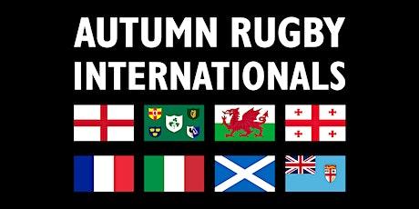 Windsor RFC - Autumn International Wales v England  lunch 15:00 tickets