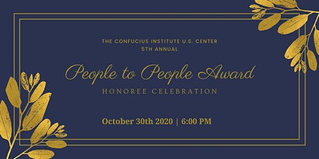 2020 People-to-People Award Honoree Celebration tickets