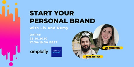 Start your Personal Brand tickets