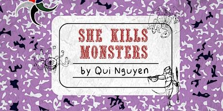 Delgado Theatre Presents SHE KILLS MONSTERS: VIRTUAL REALMS tickets