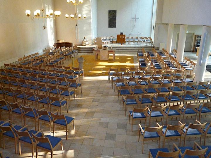 Afbeelding van Reserveer een plaats in de kerkdienst