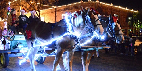 2020 Holiday Carriage and Wagon Rides-Ennis TX tickets