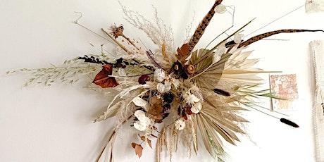 Thanksgiving Centerpiece - Dried Floral Class @ Brooke + Bel Hoboken tickets