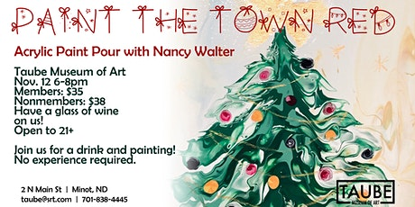 Paint the Town Red with Nancy Walter tickets