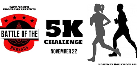 LAPD Battle of the Bureaus - 5K Virtual Run Challenge tickets